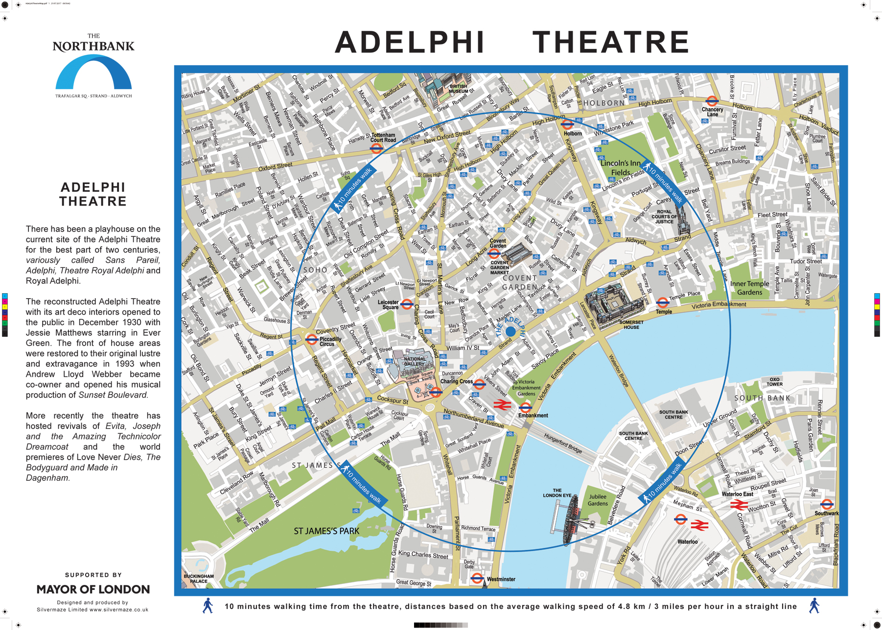 London Theatre Map