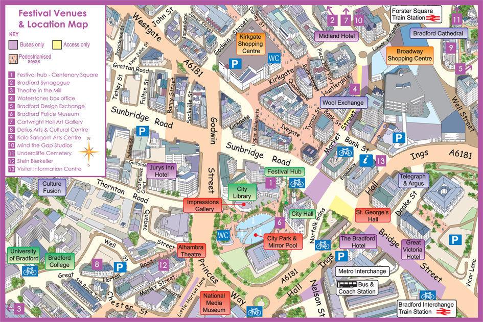 Bradford Festival venues final