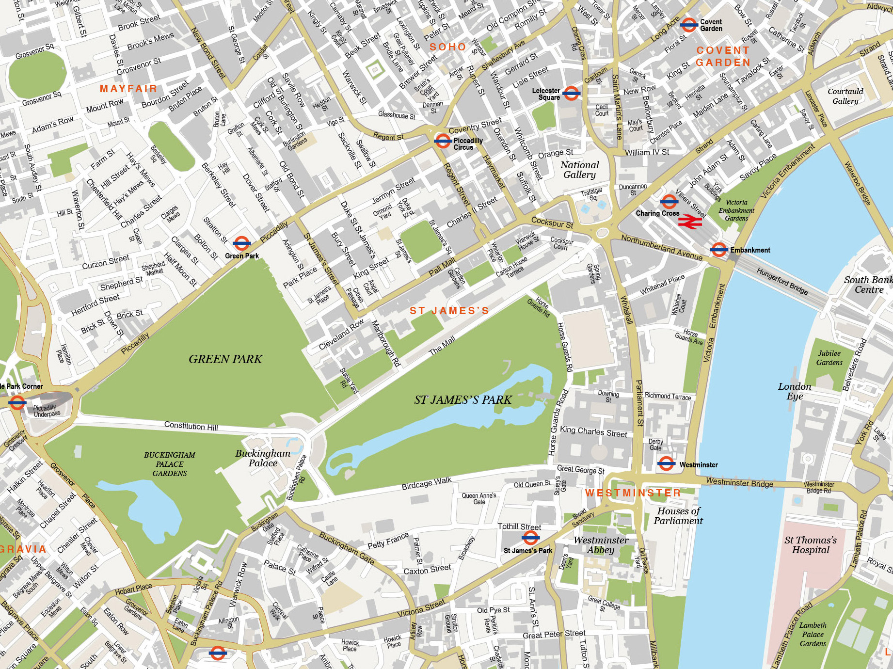 Free London Maps