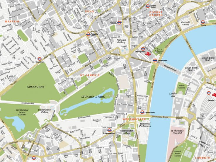 London Free Map.Free London Maps Maps Of London In Different Styles Silvermaze